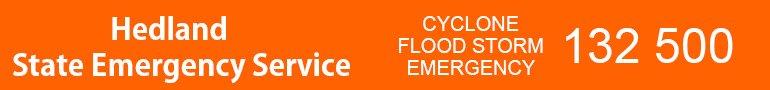 hedland state emergency service banner